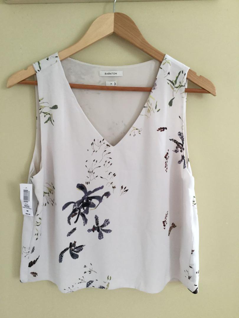BNWT Aritzia babaton murphy blouse sz m