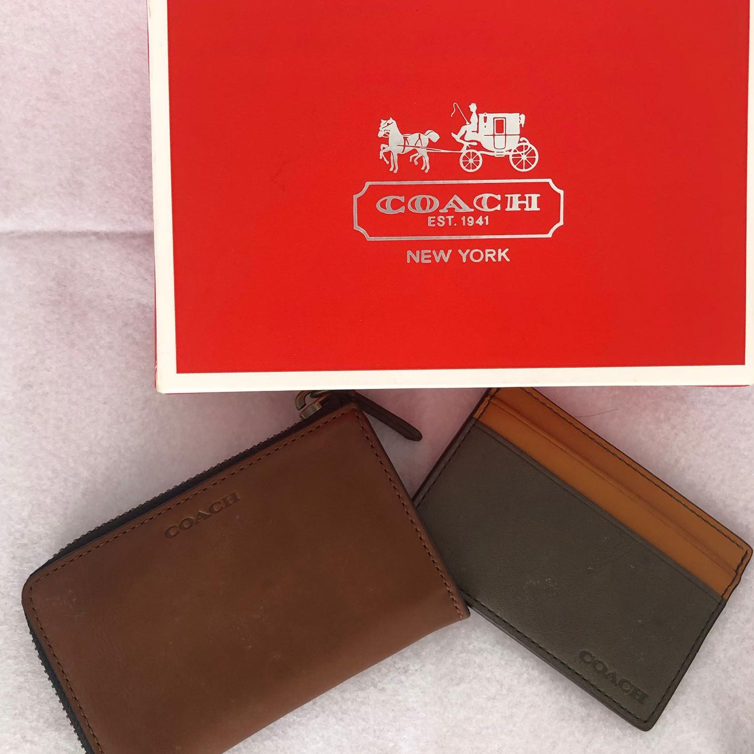 438d1ff3c6845 BRAND NEW  Coach Men Wallet and Card Holder