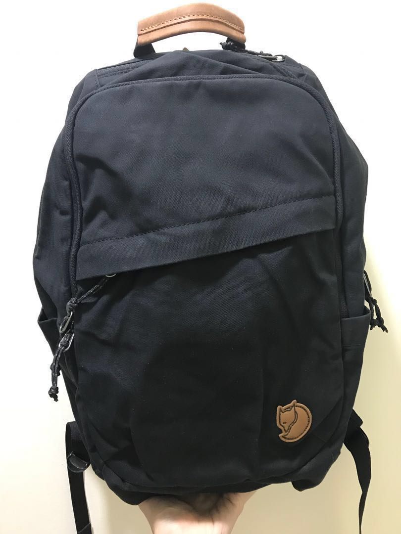 625a46138553e Brand New Fjallraven Kanken Raven 20L Laptop Backpack - black ...