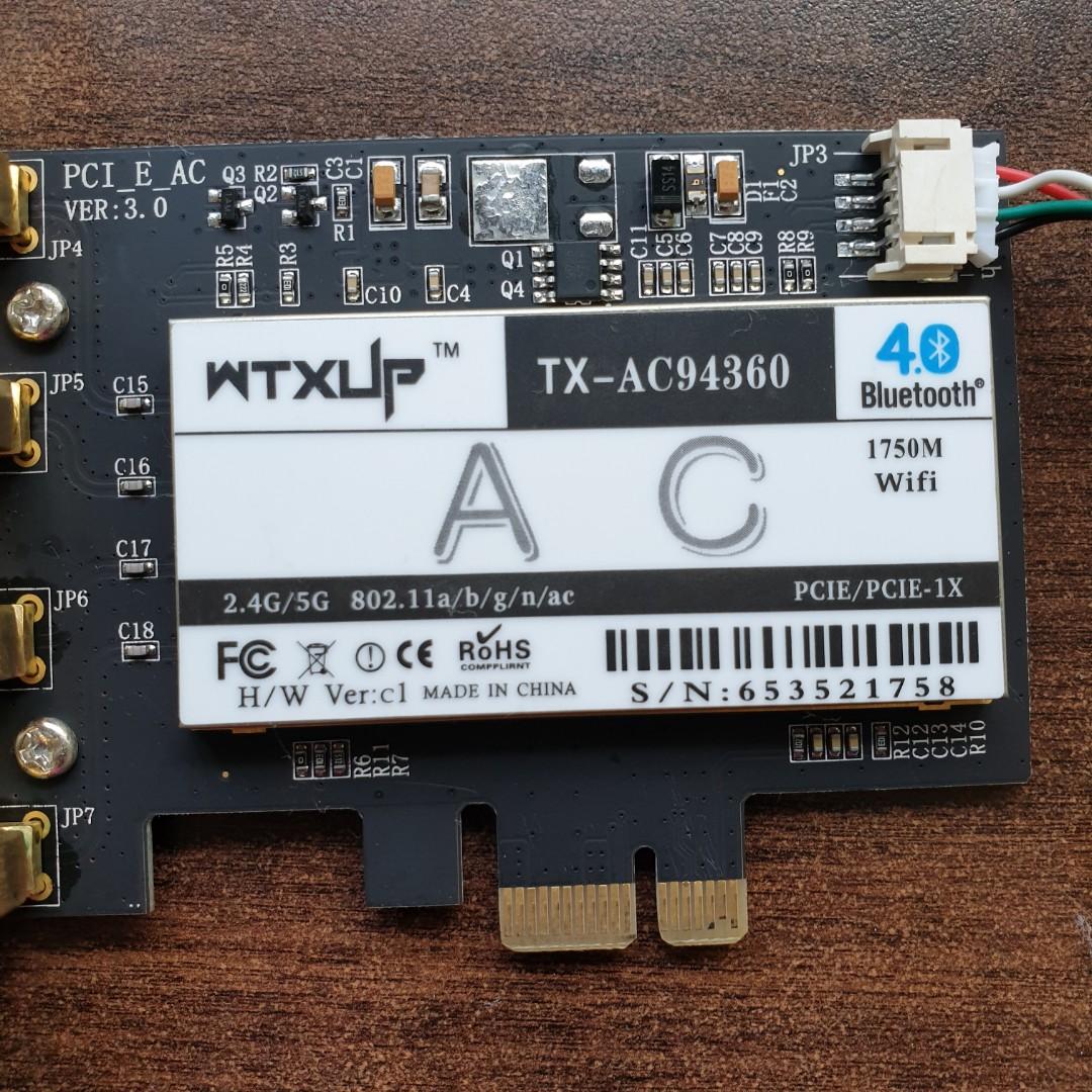 Broadcom Wireless Card Chipset for Hackintosh