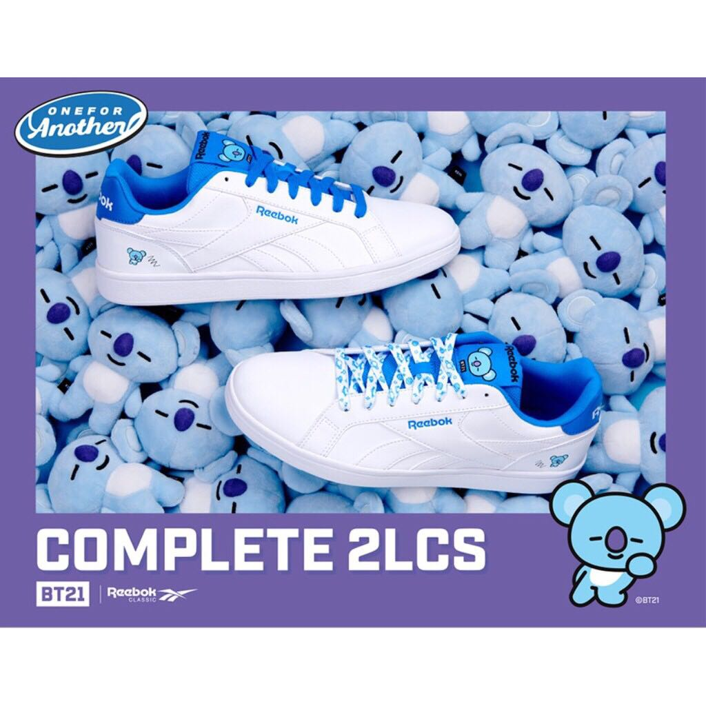 3cca54be893 BT21 x Reebok Royal Complete 2LCS - Koya