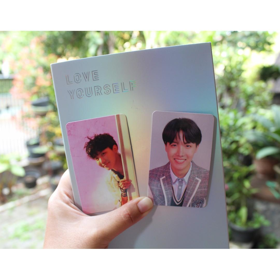 [PC ONLY] BTS Love Yourself Answer Album JHOPE Versi E L Photocard
