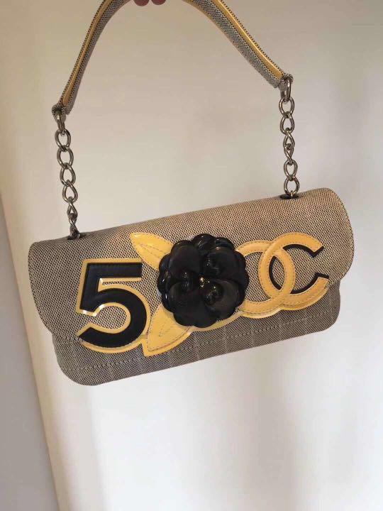 56577a213a80 CHANEL No 5 Camellia Shoulder Bag Vintage, Women's Fashion, Bags ...