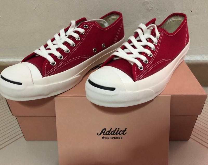 6ddc9b16e30a8 Converse Addict Jack Purcell, Men's Fashion, Footwear, Sneakers on Carousell