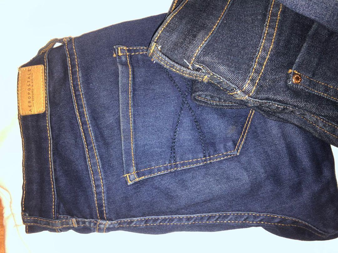 Dark Wash Jeans - Guess, Aeropostale's, H&M