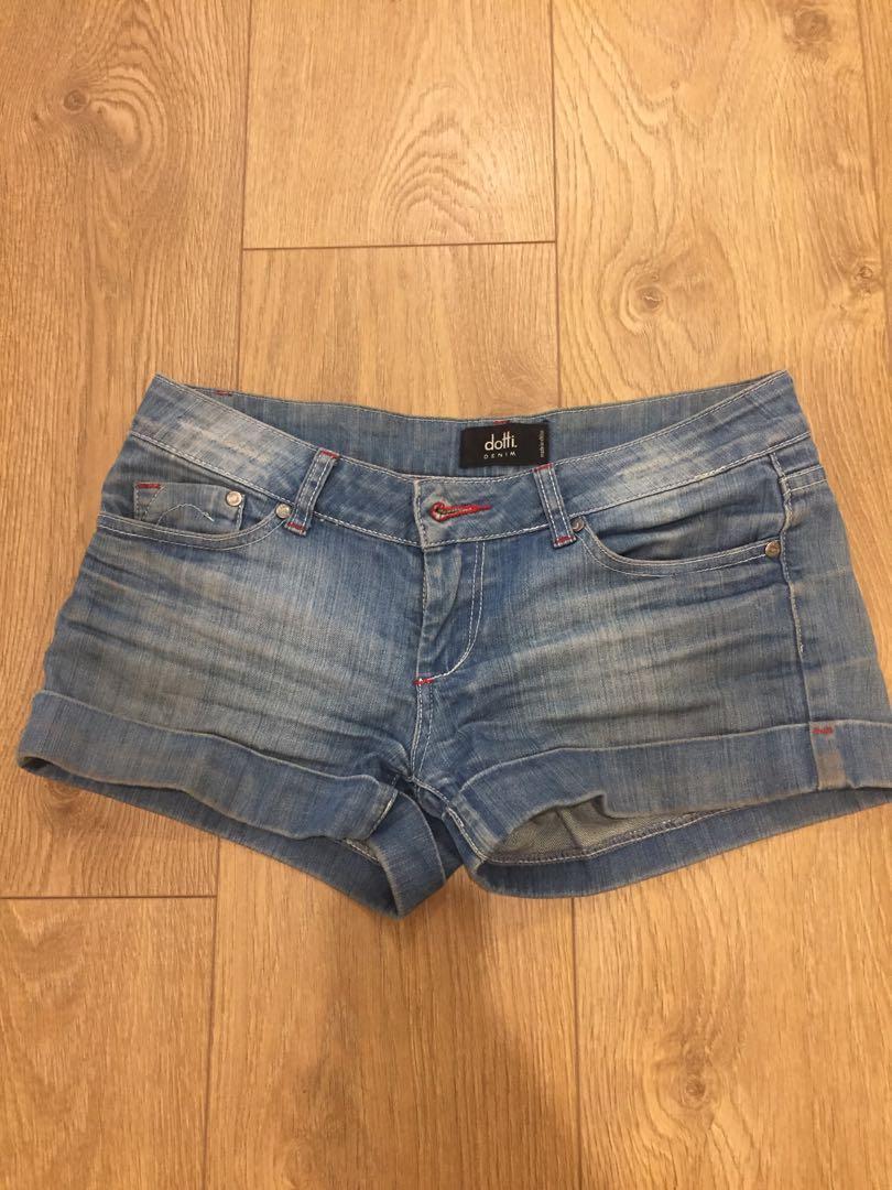 Denim shorts women's size 8