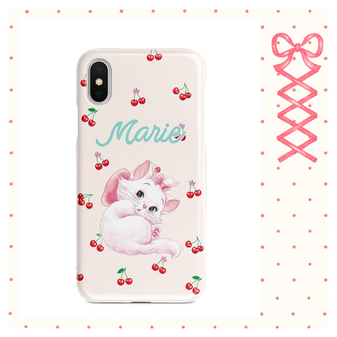 brand new 9ddb8 ebd5d Disney Marie cat - soft case for iphone