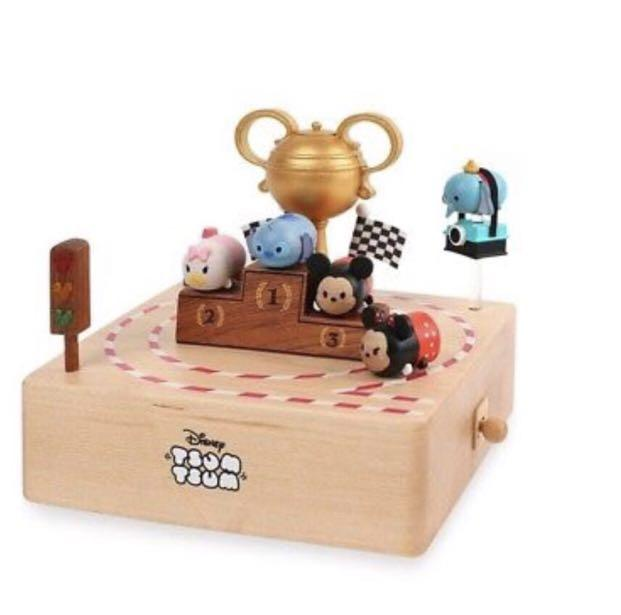 Disney Tsum Tsum Race Attack Wooden Music Box Everything Else On Carousell