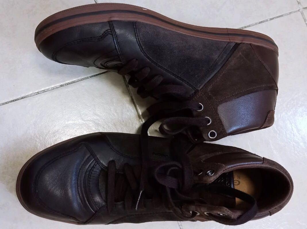 d3fbf247faa GEOX Respira Brown Formal Shoes - High Top, Men's Fashion, Footwear ...