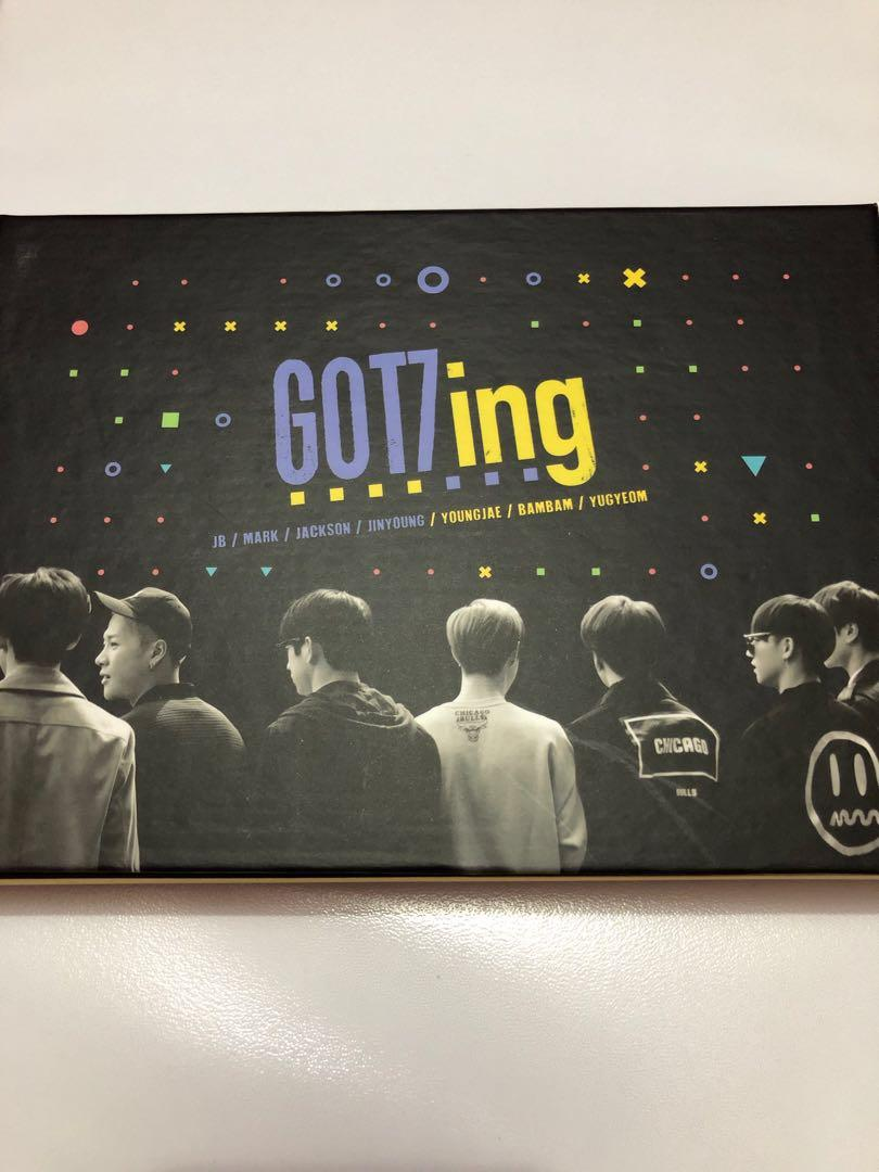 GOT7 Official GOT7ing [3 DVD + Photobook + Postcards]
