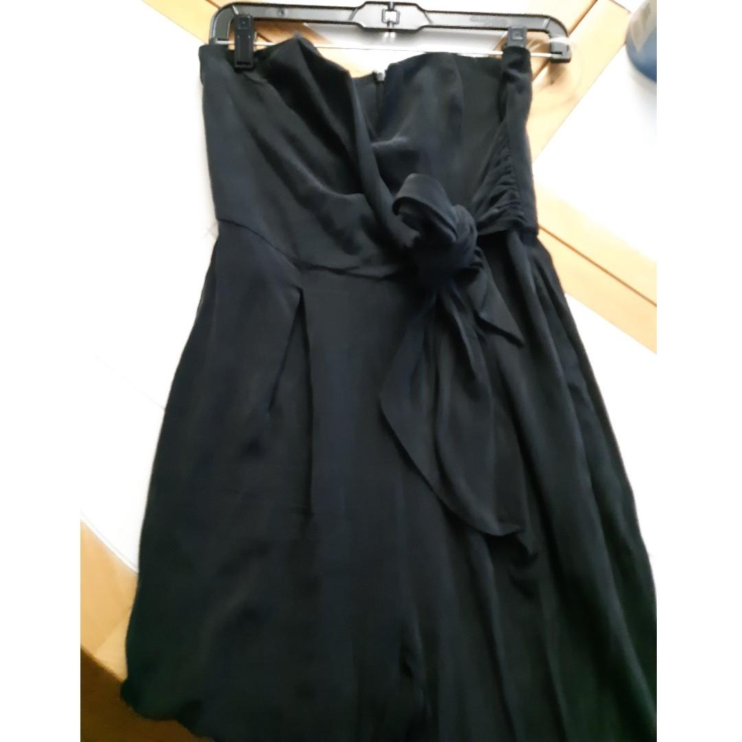 Guess black strapless jumpsuit 4 #SwapCA