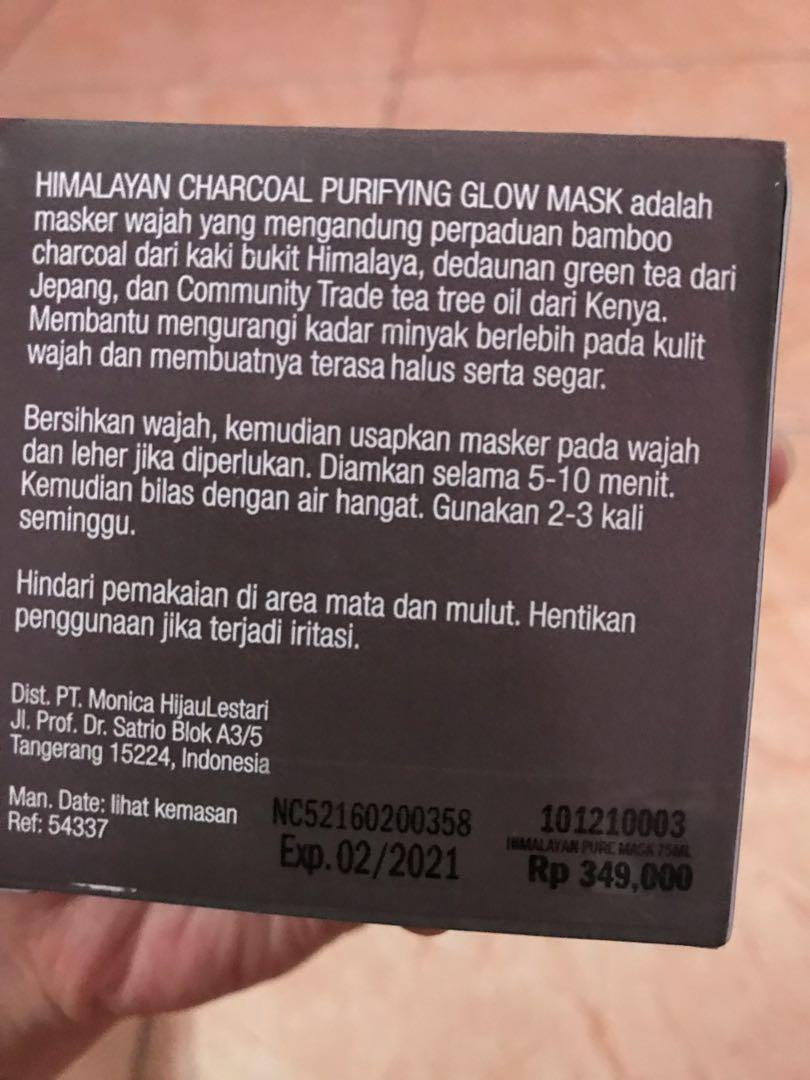 Himalayan charcoal the body shop