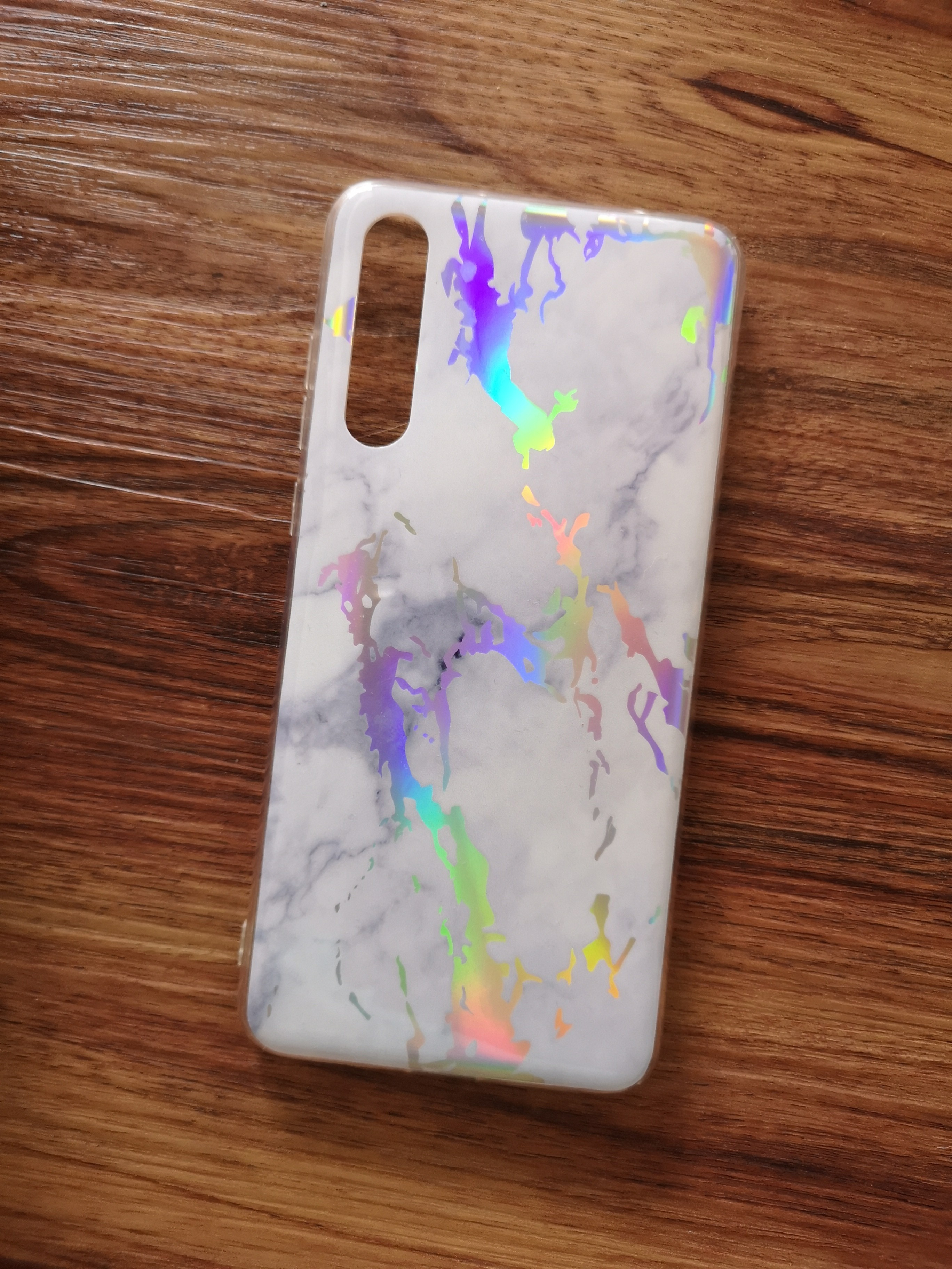 new styles c5aae 92451 Holographic Marble Case for Huawei P20 Pro