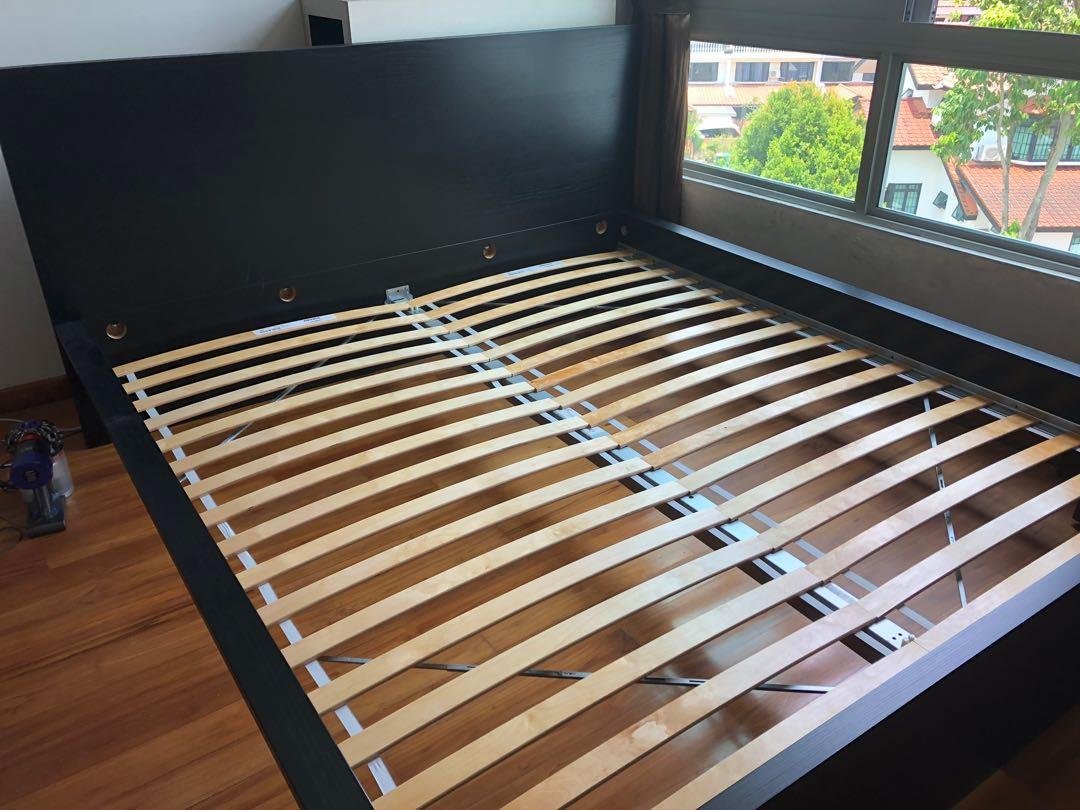 Ikea Bed Frame Furniture Beds Mattresses On Carousell