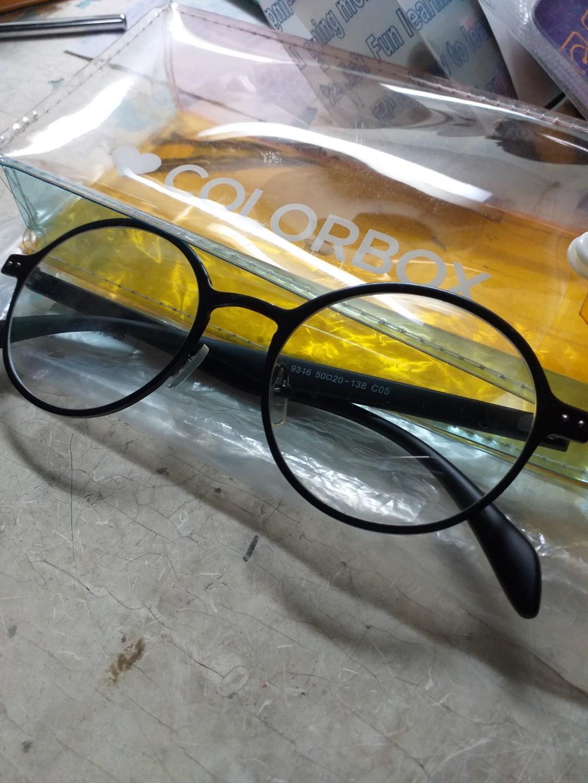 Kacamata Bulat Colorbox
