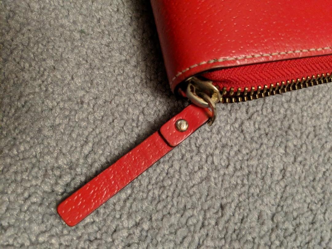 Authentic Kate Spade wallet RED