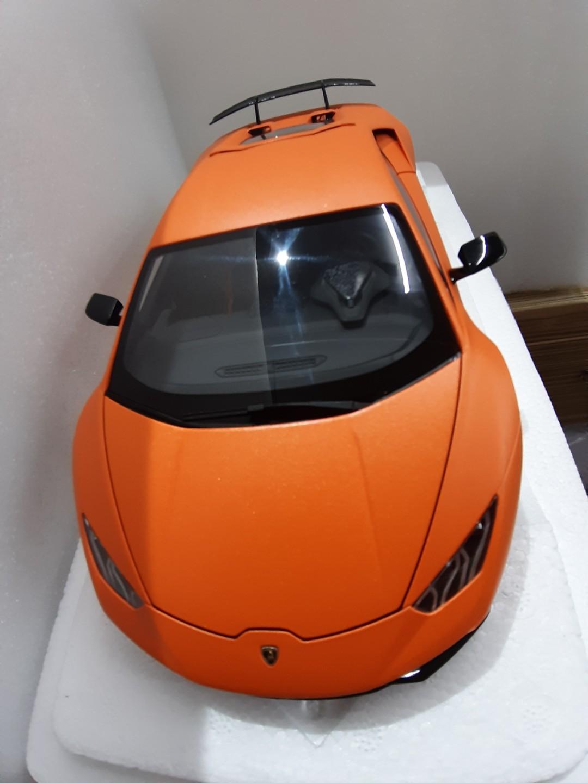 Lamborghini Huracan Performante Matt Orange Toys Games Bricks