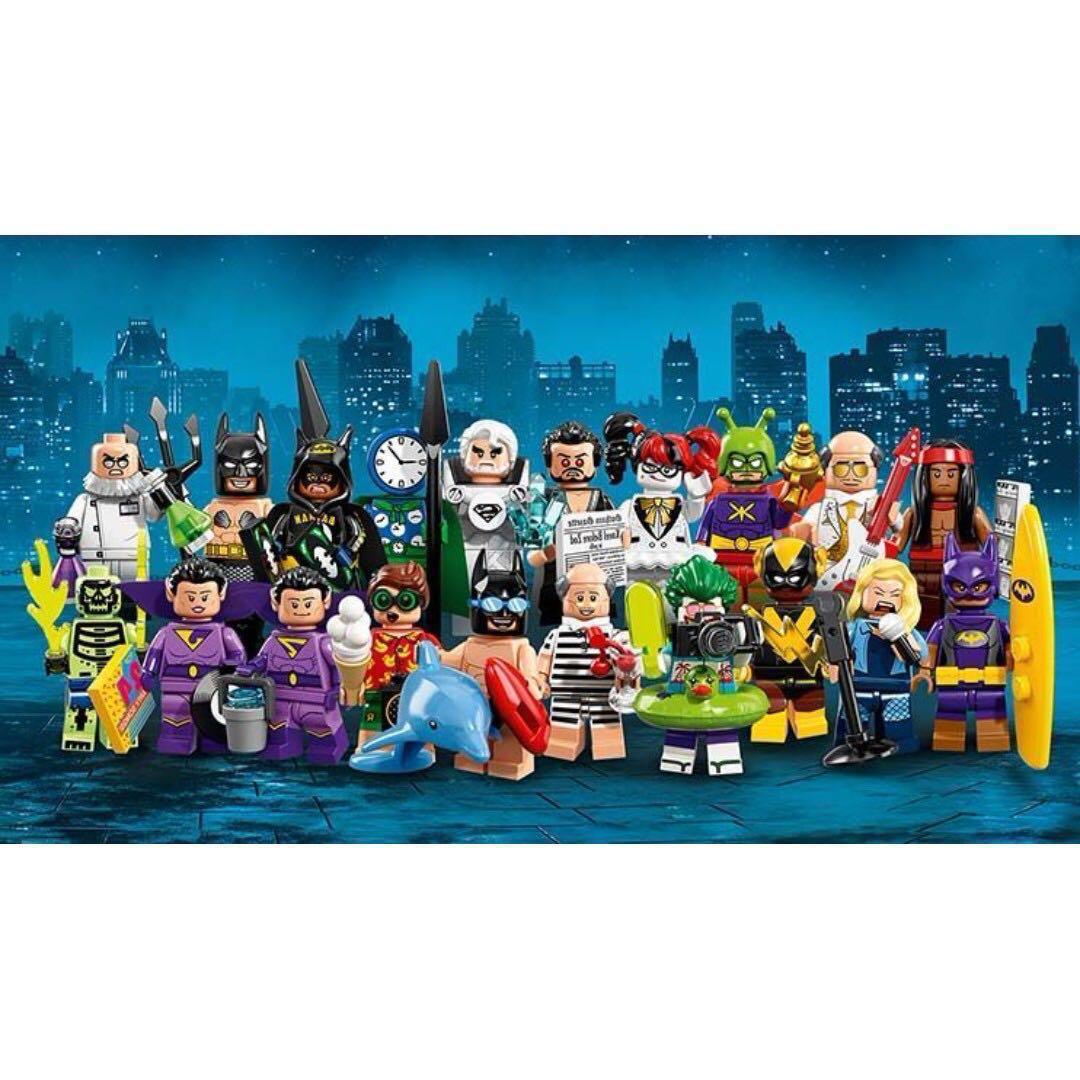 Leeogel [Free Postage] Lego Minifigures 71020 Batman Movie Series 2 set of  20 DC Super Heroes - Repacked