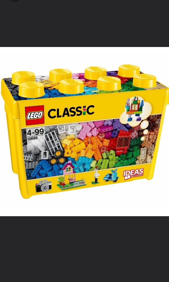 19c62b33d4c0 Lego 10698 classic creative brick box 790 pieces, Toys & Games ...
