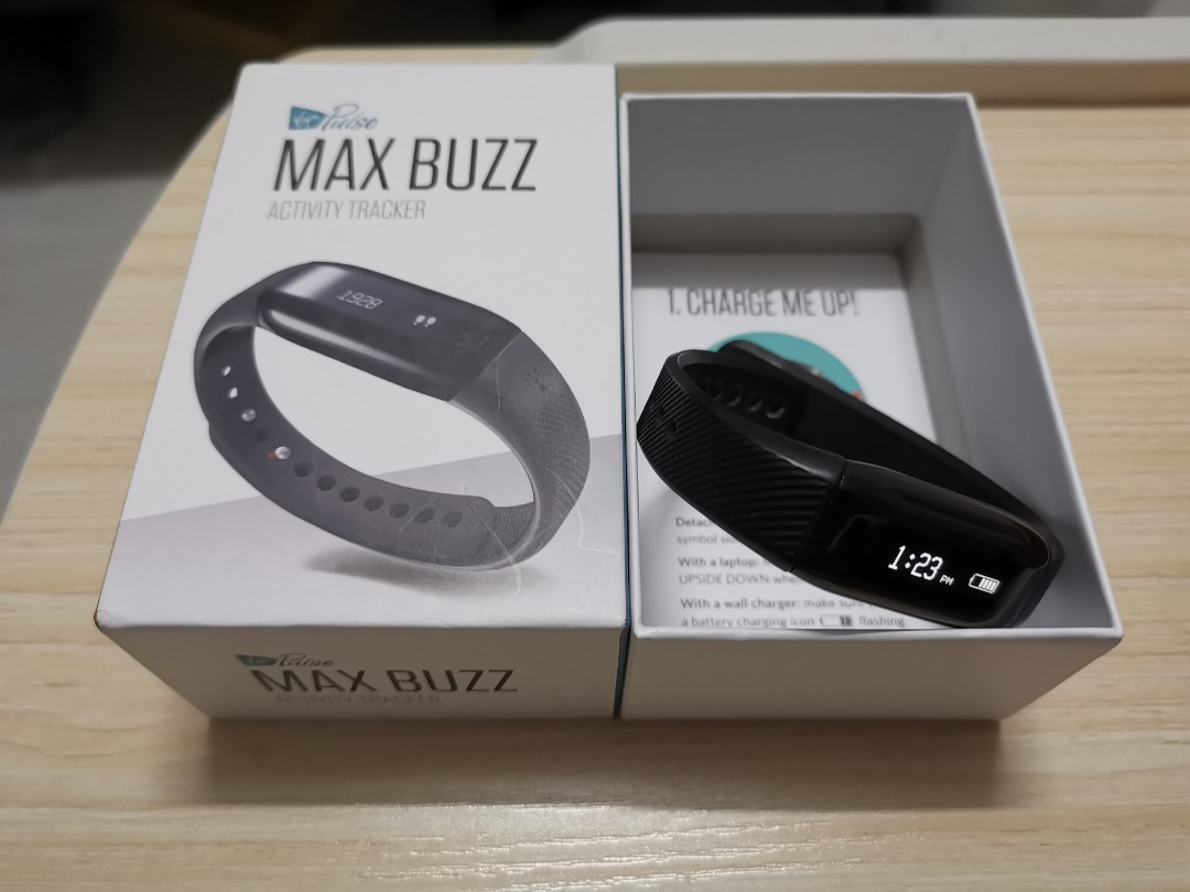 Max Buzz Activity Tracker