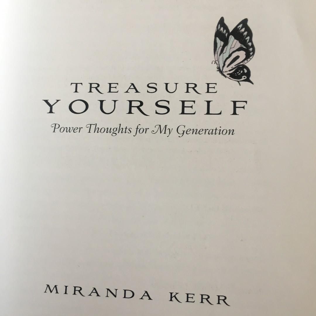 Miranda Kerr - Treasure Yourself