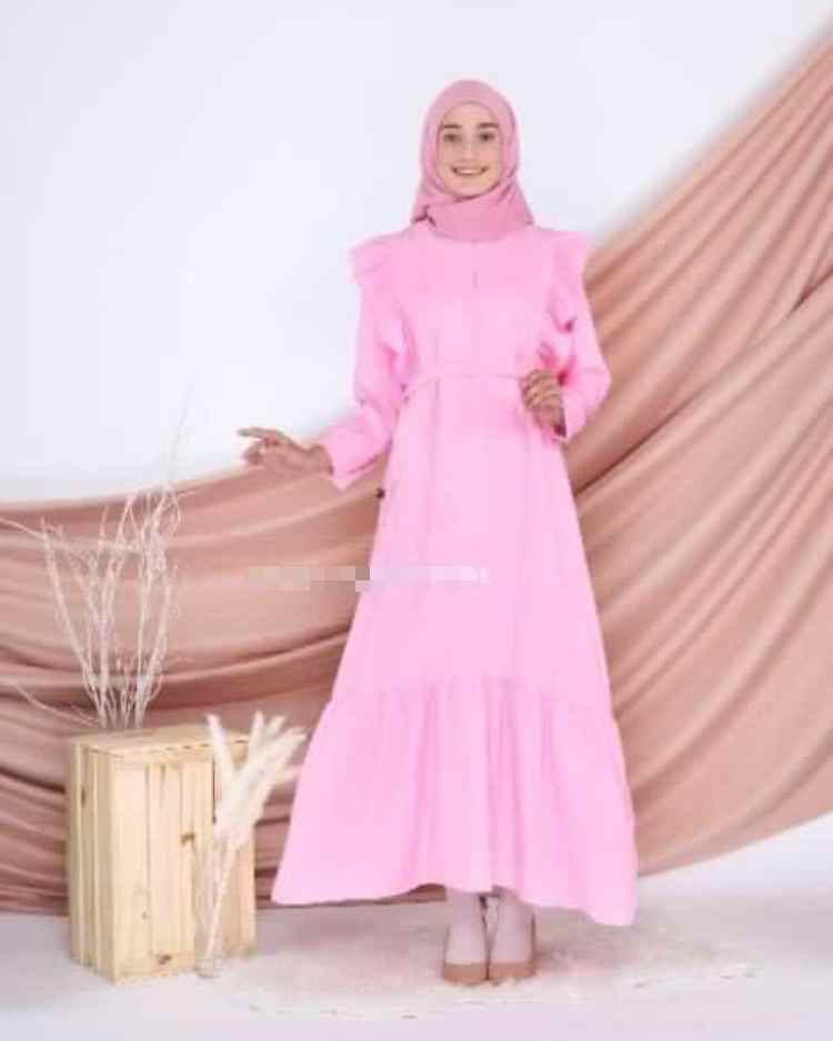 Naura Dress (Pink)