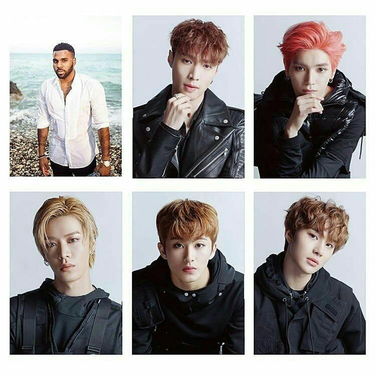 NCT127 ×  LAY (EXO) × JASON DERULO - LET'S SHUT UP AND DANCE