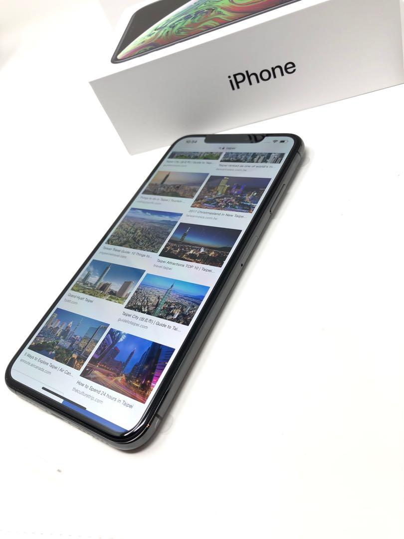 蘋果 Apple iPhone XS Max Space Gray 64GB 全新美規盒裝 #8550