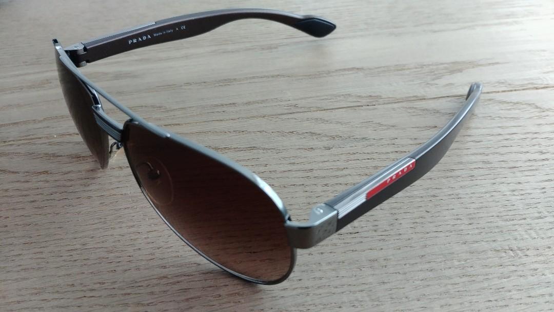 d31d4d9e8119 New Original Prada Brown Sunglasses in Case, Women's Fashion ...