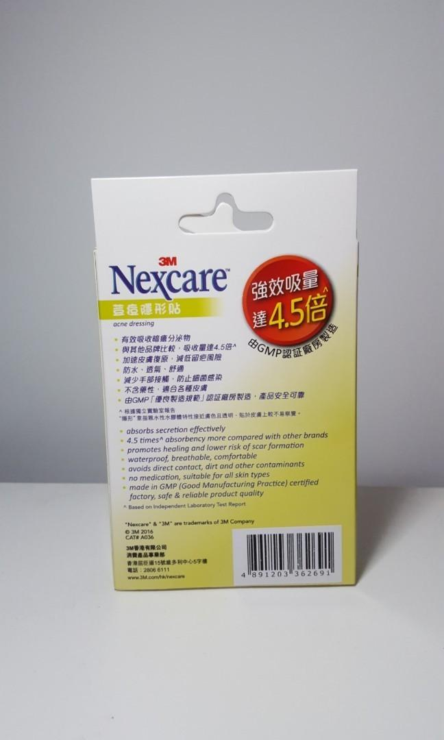 Nexcare Acne Stickers (36pcs) + Foaming Cleanser Brand New Sealed Box