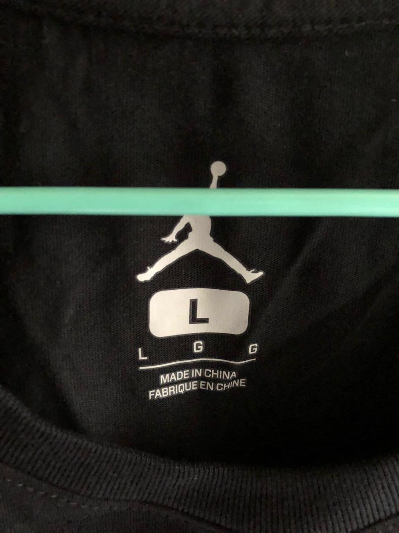 Nike Air Jordan T shirt.