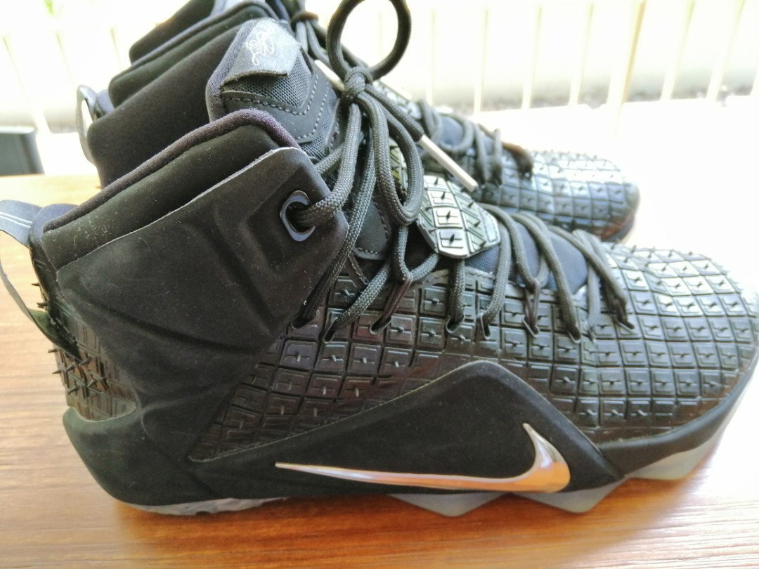 buy popular d3755 8c958 Nike Lebron 12 EXT QS 'Rubber City' U.S size 10.5, Men's Fashion, Footwear,  Sneakers on Carousell