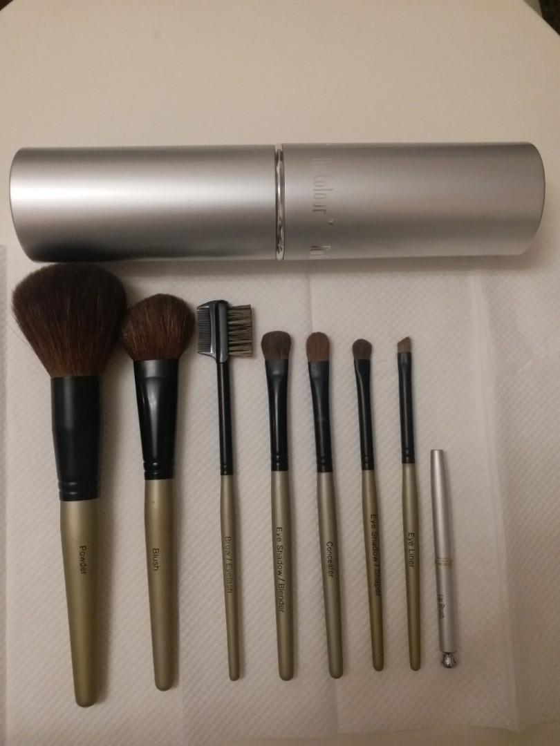 Nu Colour 化妝/胭脂/眉/眼影掃/唇筆 Make up brush