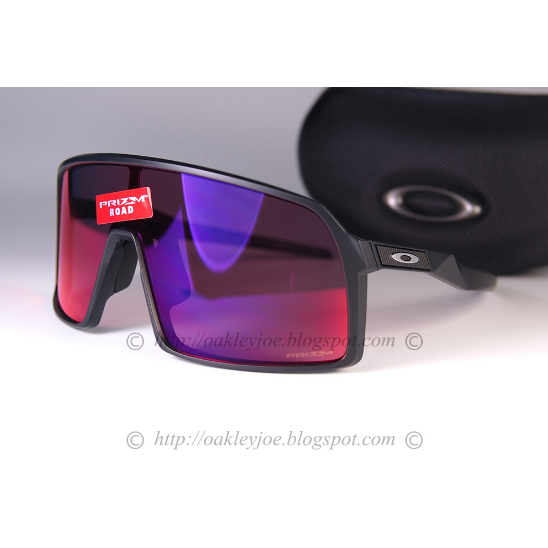 4bbeeb0b2679f Oakley Sutro matte black + prizm road sunglass shades 001-152418 ...