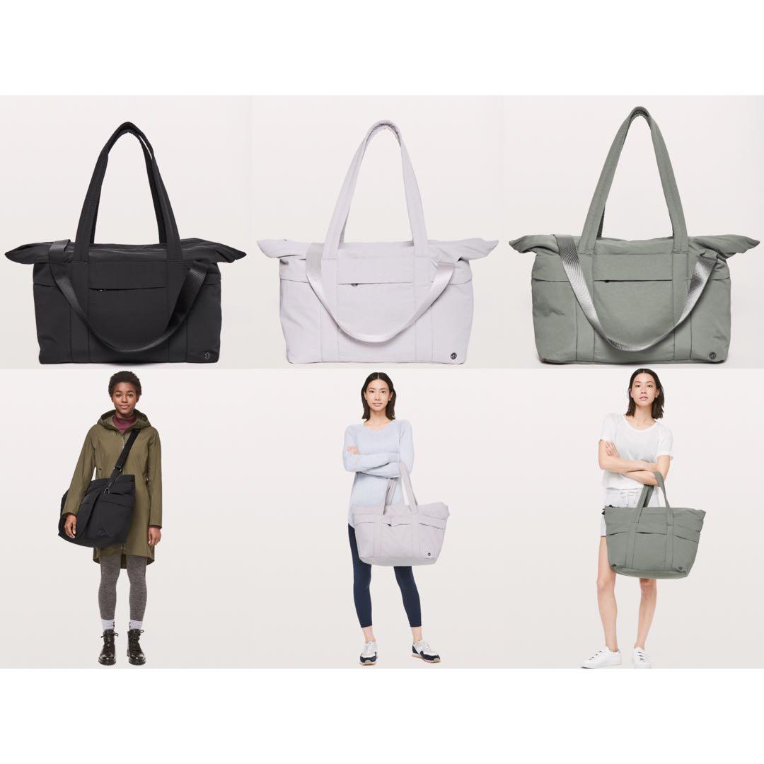 6ca10f25b10 On My Level Duffel Bag 30L Lululemon, Women's Fashion, Bags & Wallets,  Handbags on Carousell