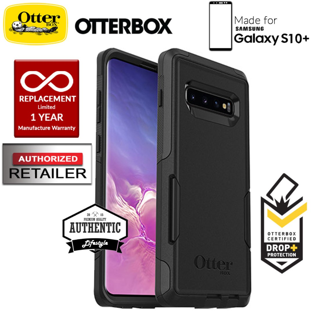 big sale 4a522 f7181 Otterbox Commuter for Samsung Galaxy S10+ / S10 Plus - Black
