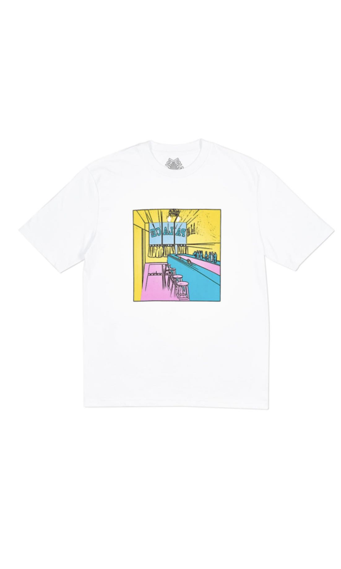 baffc28552ef Palace scheisse face tee (white)