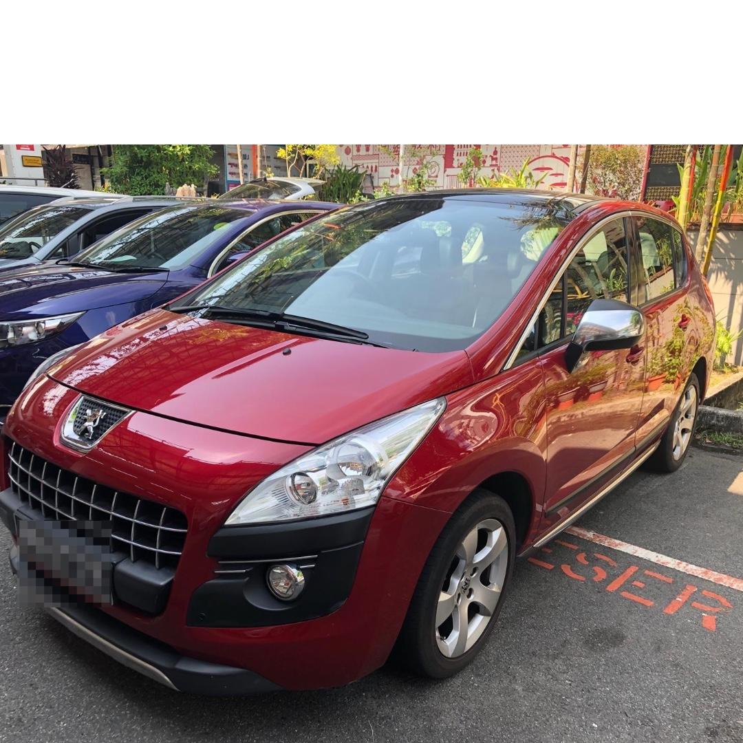 PEUGEOT 3008 1.6L WITH TURBO MPV - CONTINENTAL HANDLING, SOLID, COMPACT & SPORTY, POWERFUL ENGINE, RIDE HIGH, RIDE WITH STYLE!!