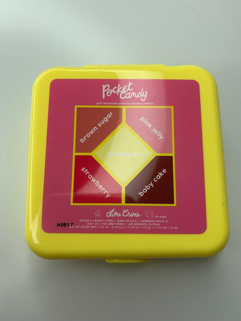 Pink Lemonade Pocket Candy Palette