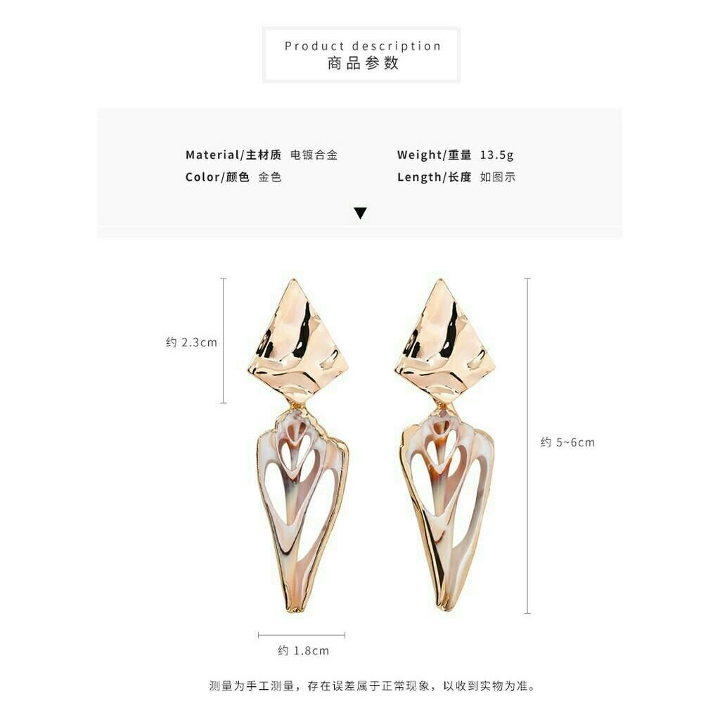 Po6 anting earrings aksesoris accessories kalung gelang cincin bandana bando jepitrambut hairpin eyeliner eyeshadow mascara bag dompet tas foundation liptint lipblam lipstick