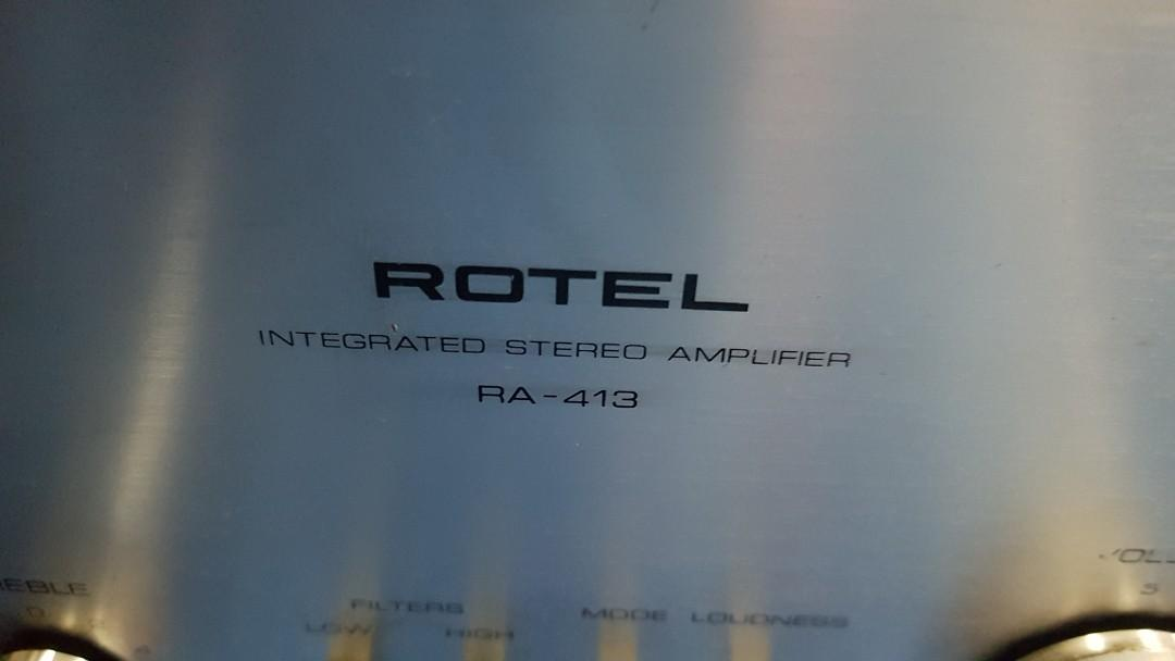 Rotel RA 413 Amplifier