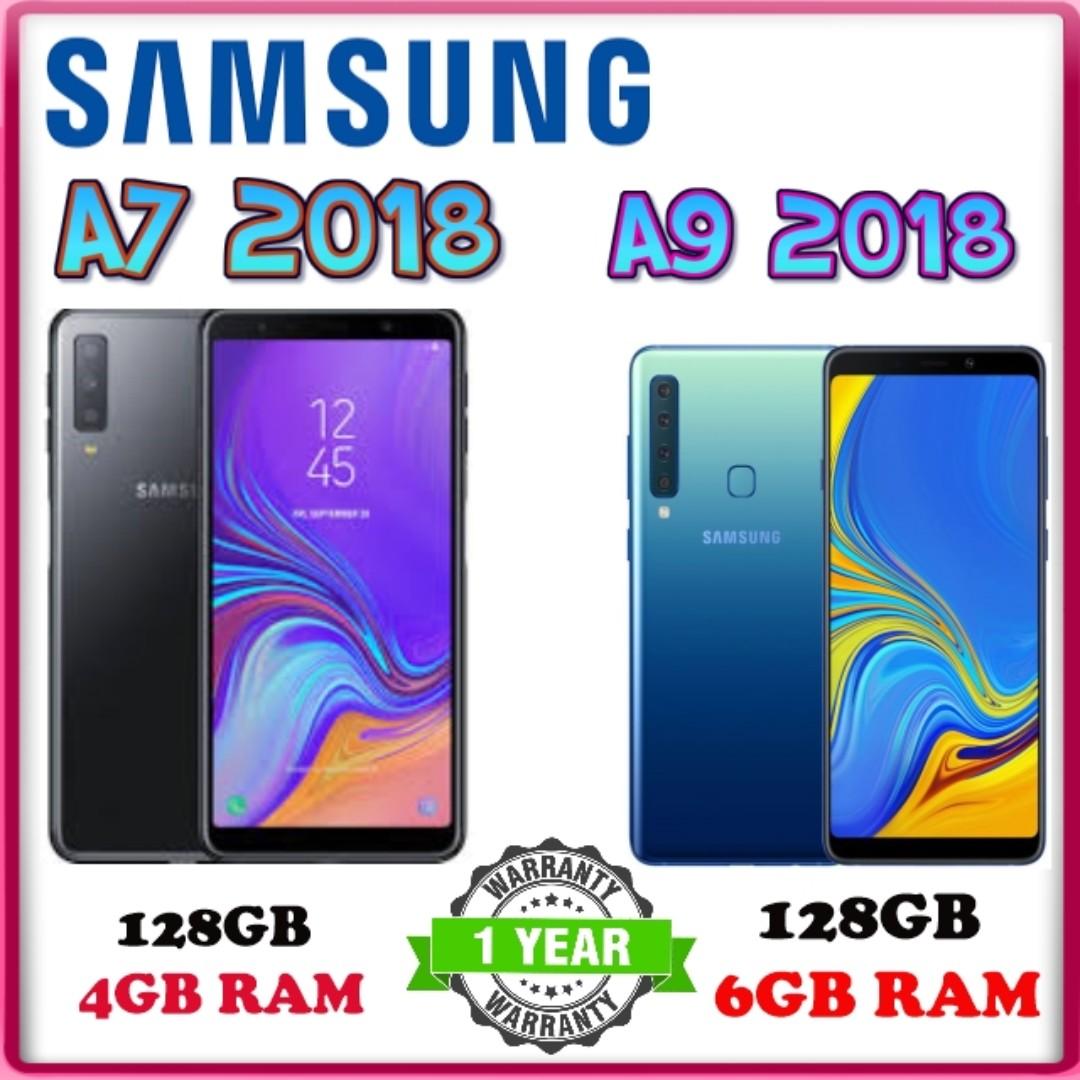 Samsung A7 2018 , A9 2018 / 1 Year Warranty by Samsung