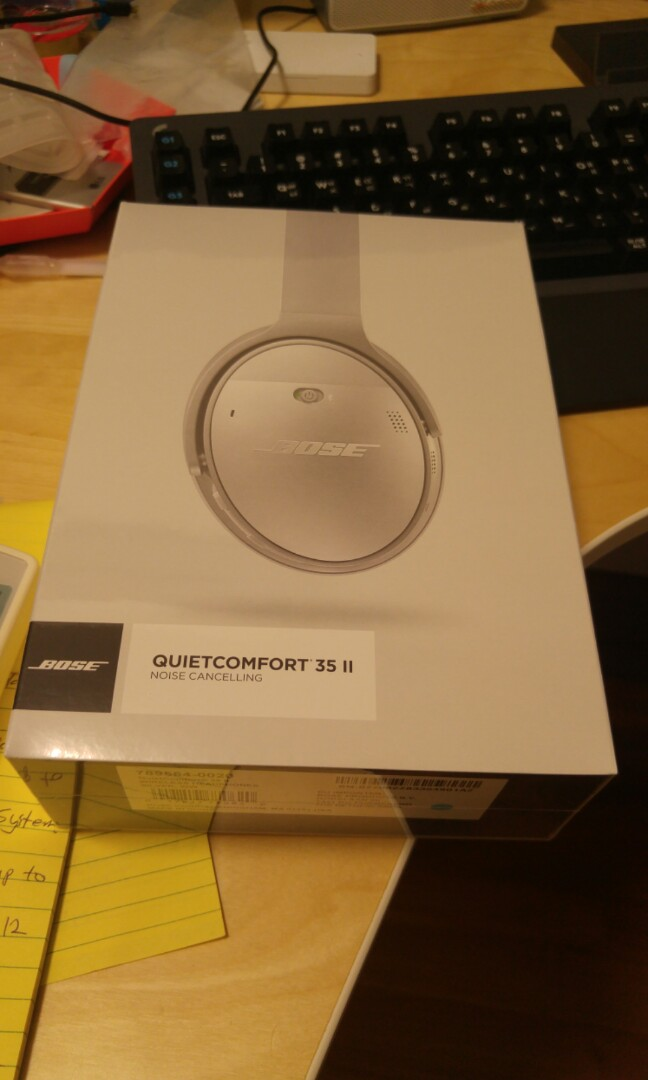 e07b1581622 Sell/trade) New BOSE QC35 ii, Electronics, Others on Carousell