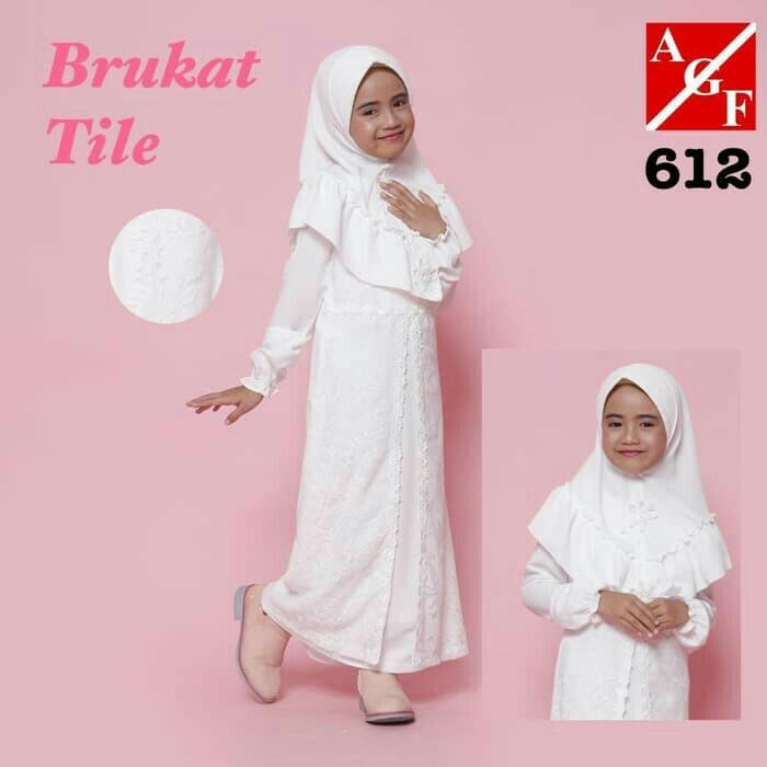 Set Dress Gamis Anak 612 Set Baju Muslim Anak Perempuan Busana Muslim Anak Perempuan Fesyen Wanita Muslim Fashion Gaun Di Carousell