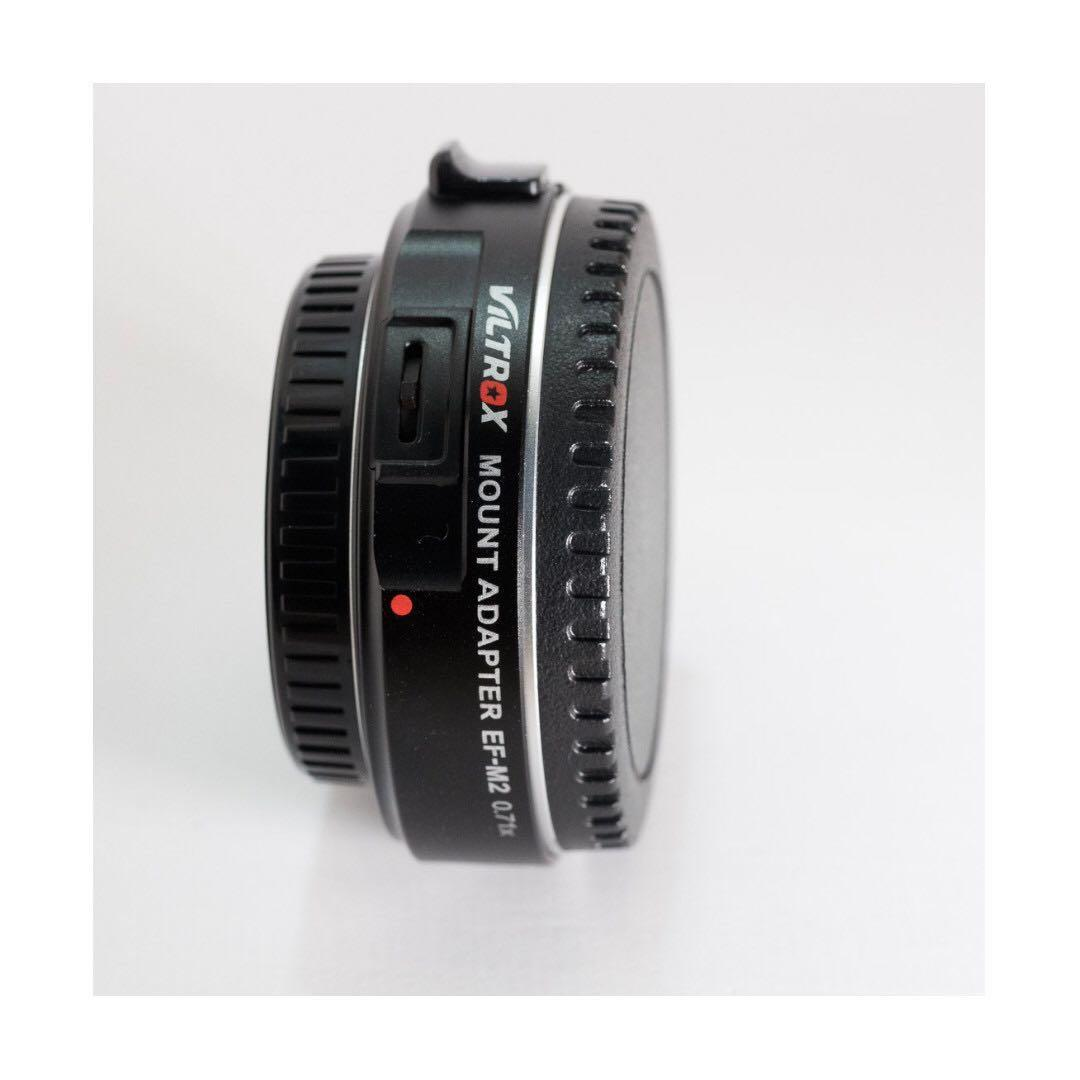 Speedbooster Viltrox EF-M2 Lens Mount Adapter 0.71X for Canon EOS EF Lens to Micro Four Thirds (MFT, M 4/3)