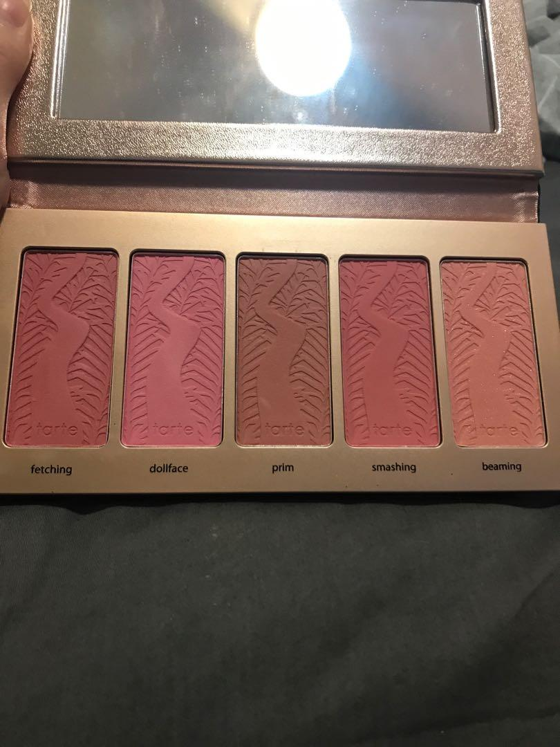 Tarte Cosmetics Limited Edition 'Bling It On' blush palette
