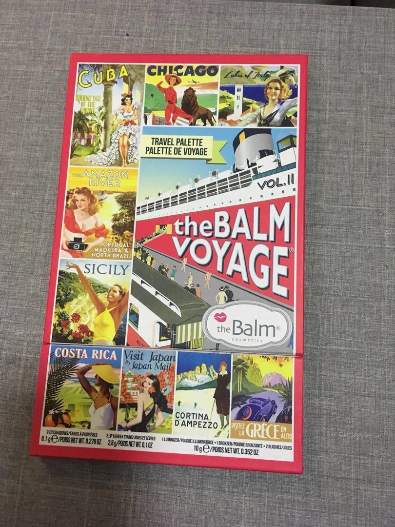 the balm 旅行盤voyage face palette vol.2