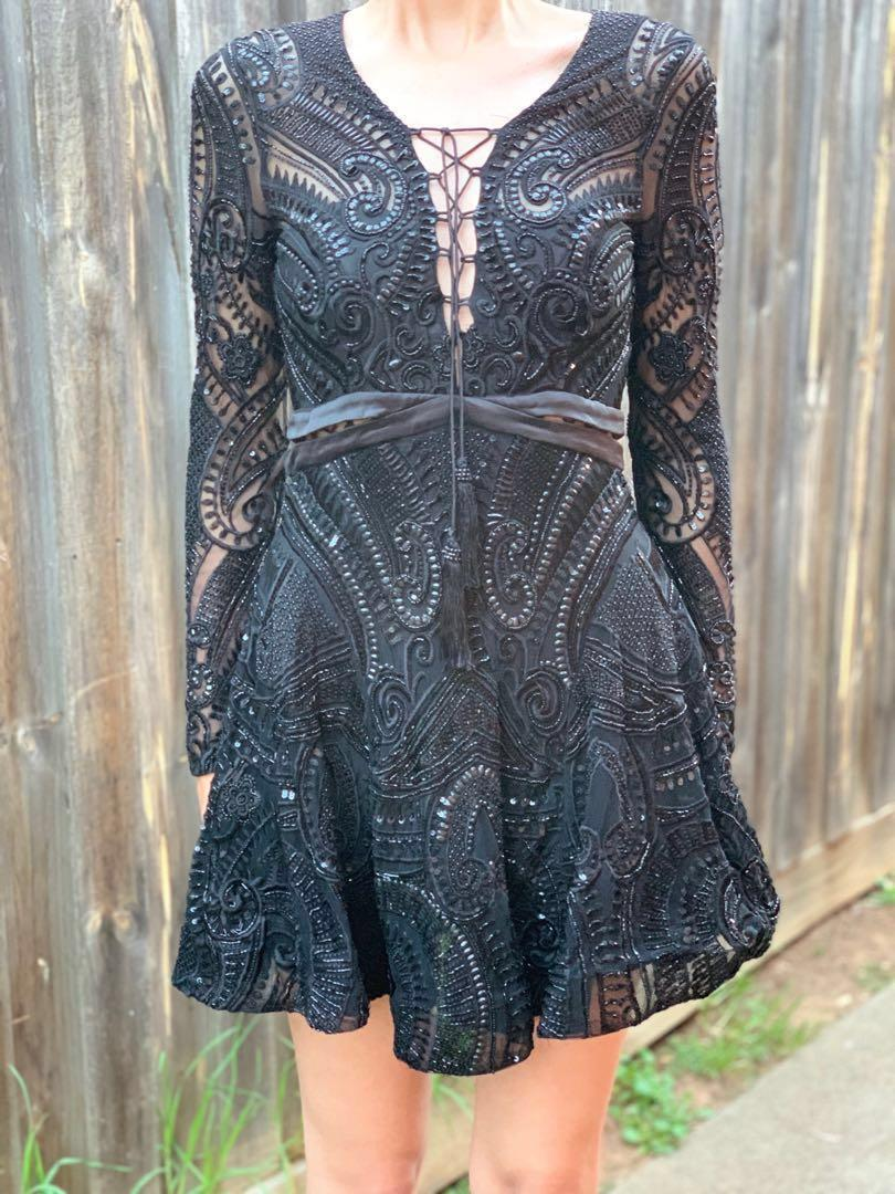 Thurley Astrology Dress Size 10 BNWT Rrp $999 Limited Edition