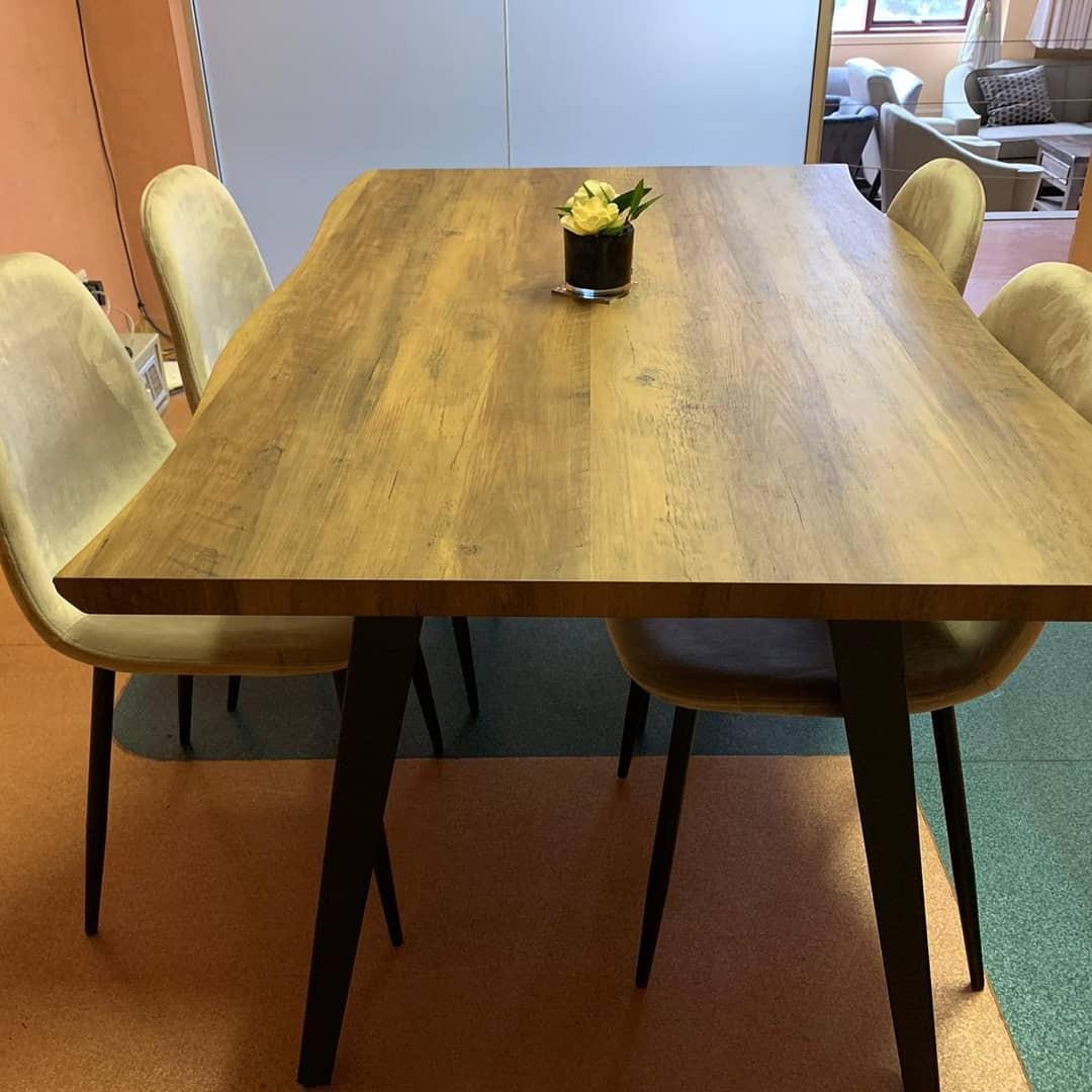 Affordable cheap priced wooden dining table
