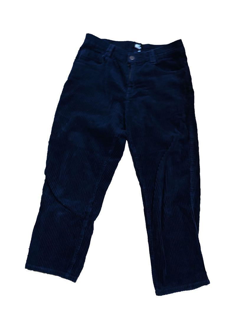 Urban Outfitters Navy Corduroy Pants